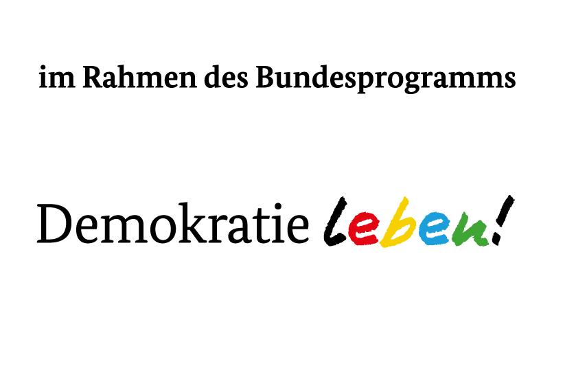 Logo des Programms Demokratie leben